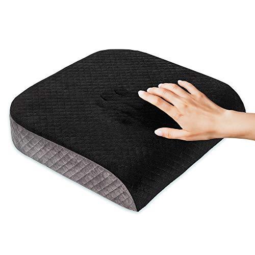 Kӧlbs Large Seat Cushion   Stylish Plush Velvet Cover   Large Memory...