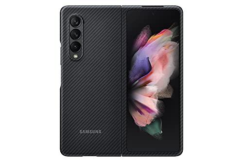 Samsung Aramid Cover per Samsung Galaxy Z Fold3 5G, Black