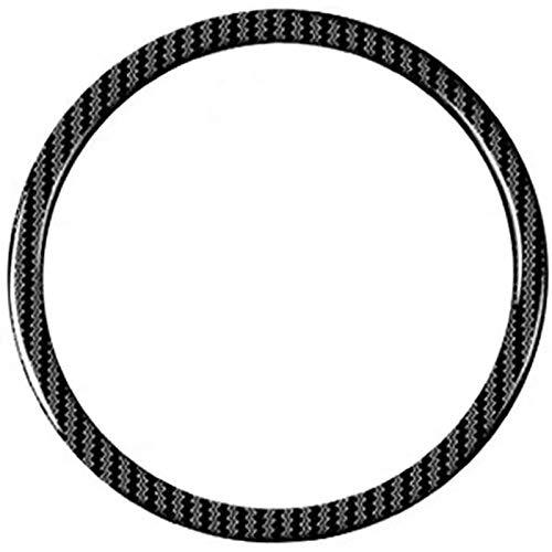 Camisin Cubierta Adhesiva Moldeada de Adorno de la Etiqueta del Logotipo del Anillo del Volante, Interior de Accesorios de Coche para 3 6 Cx-4 Cx-5 CX-9