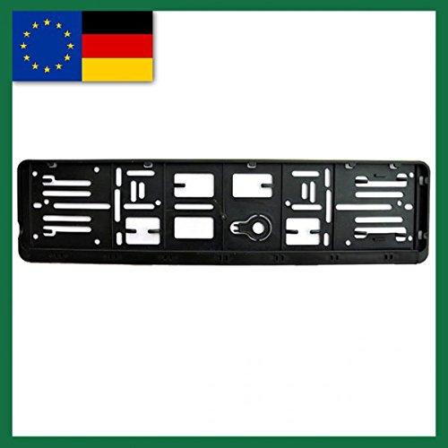 Wechselkennzeichenhalter für Fahrradständer Deutschland und EU Normen 110X520