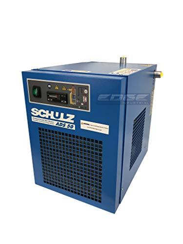 Schulz REFRIGERATED AIR Dryer for AIR Compressor, Compressed AIR Systems, 50 CFM, Good for 10HP & 15HP COMPRESSORS (Stand Alone Dryer)