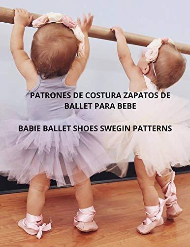 Patrón de costura zapatos de ballet para bebé: Babie shoes ballet swegen...