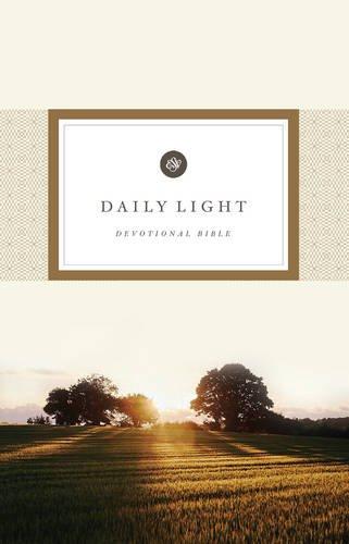 ESV Daily Light Devotional Bible