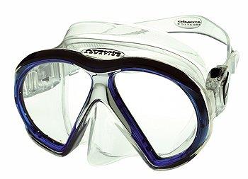 ATOMIC - SubFrame Clear-Blue Tauchmaske