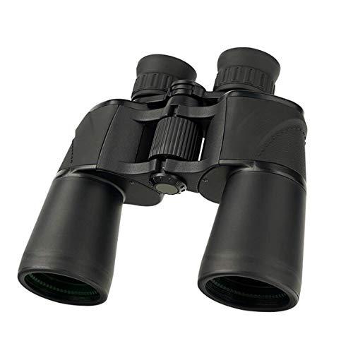 GYCS Binoculares de observación de Aves 10x50 para Adultos, telescopio binoculares portátiles e Impermeables BAK4, Ocular Grande con visión Nocturna con Poca luz, para Tiro al Blanco, Caza, obser