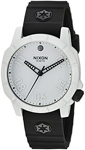 Reloj NIXON Star Wars Soldado Imperial A468SW2243 Hombre Caucho Blanco Cuarzo