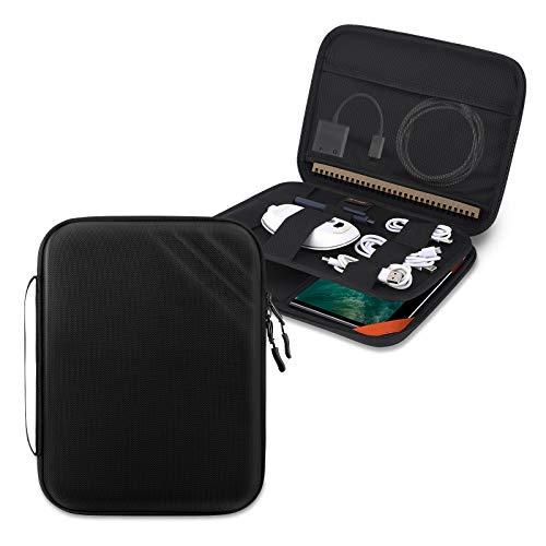 FANIS Funda de Tablet 11 Pulgadas, Funda para Tableta con iPad Pro (2018/2020/2021) / iPad Air 10,9 Pulgadas iPad 4 / 10,2 Pulgadas, Protección de Cáscara Dura, Estuche con Bolsillo para Accesorios