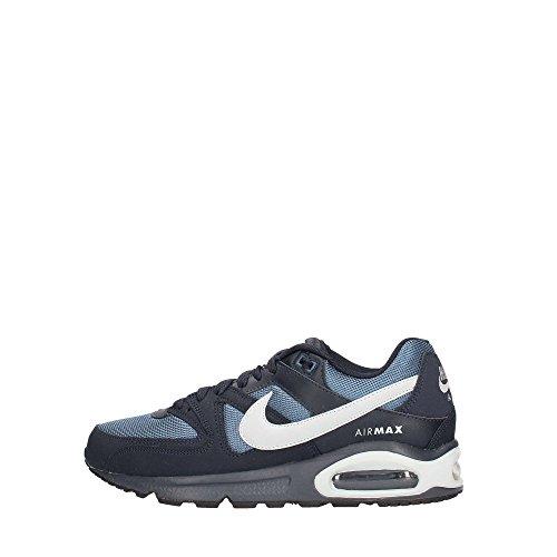 Nike Air Max Command, Scarpe da Ginnastica Basse Uomo, Blu (Dark Obsidian/Wolf Grey/New Slate/Wolf Grey), 41 EU