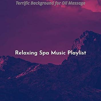 Terrific Background for Oil Massage