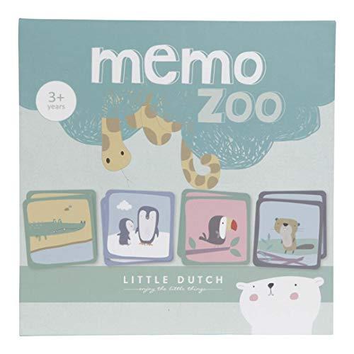 Little Dutch 4447 Kinder Spiel Memory Zoo 40-Teile