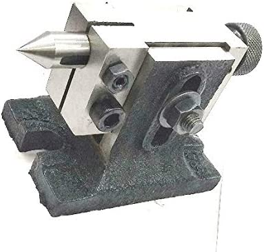 Lathe Tailstock for Rotary Tables Hardened /& Ground Point Machine Tools Tailstock for 3,4 Rotary Table