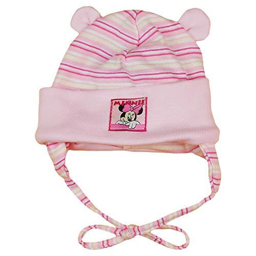 Babybogi Mickey Mouse Baby Mütze | Größe 56 62 | Disney Mütze für Jungen und Mädchen | blau oder rosa