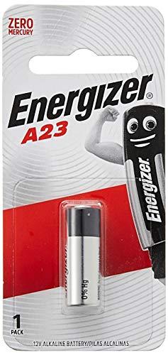 2 Energizer A23 / 23A pilas alcalinas, 2 paquetes x 1 unidade, largo duracion (fecha de caducidad marcado)