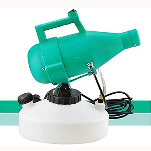 GMtes Atomizzatori Portatili a bassissima capacità di disinfezione 4.5L, Nebulizzatore Elettrico per nebulizzatore Fogger ULV, Macchina per la disinfezione dell'atomizzatore dell'insetticida,Verde