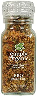Simply Organic BBQ Ground Up Certified Organic, 3.88 Ounce Container (Pack of 6)