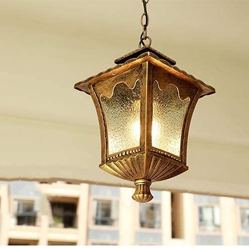 ZMY Waterproof Outdoor Challenge the lowest price of Japan Hanging Lamp European Square Cha Industry Free shipping on posting reviews