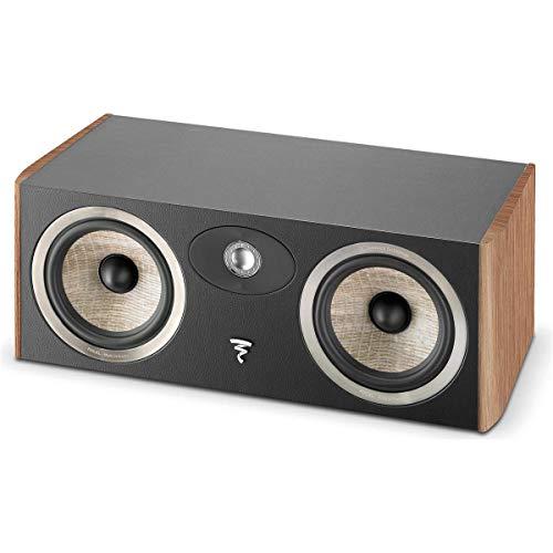 Why Should You Buy Focal Aria CC900 2-Way Bass Reflex Center Channel Speaker, Walnut, Single