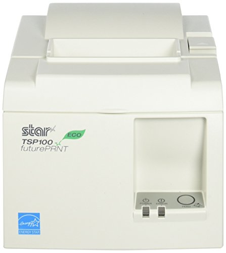 Review Of Star Micronics, TSP143IIU WHT US, ECO-Friendly Receipt Printer, USB (cable incl.), Auto Cu...