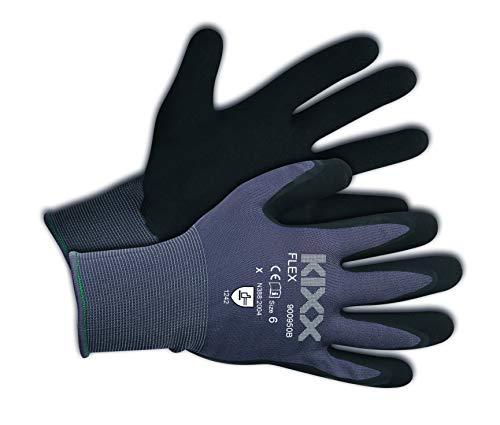 KIXX Flex Handschuh Nylon/Latex | Gartenhandschuhe | Arbeitshandschuhe | Gr. 08