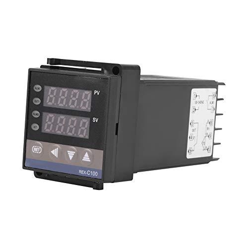 Weikeya Controlador de Temperatura, Temperatura Adecuada del termostato PID Digital con interruptores de Temperatura de plástico