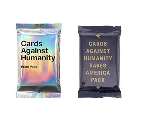 Cards Against Humanity Pride & Saves America Packs