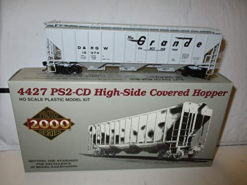 Lifelike HO Scale 4427 PS2 High Side Covered Hopper Train Car N & W Grande