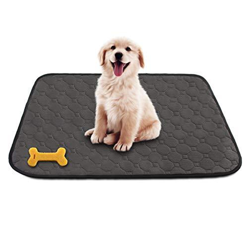 Almohadilla de Orina para Mascotas Perro Gato Almohadillas de Entrenamiento Alfombra Impermeable Lavable Reutilizables (67 * 50cm)
