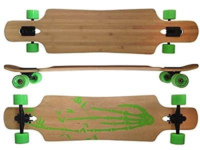 MAXOfit Deluxe Longboard Bamboo Race 9 Schichten Maple