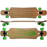 MAXOfit Deluxe Longboard Bamboo Race No.4, 107 cm, Arce, Drop Through