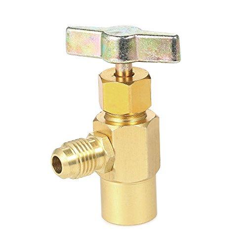 Hylotele 3 unids R134A R410A R22 R12 800 PSI Manómetro Conjunto A/C Refrigeración Manguera de Carga HVAC de Alta presión Manguera de Carga de refrigerante con válvula de Bola