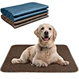wegreeco Washable Dog Pee Pads for Travel & Incontinence, Washable Potty Training Dog Pee Pads for Fast Absorbing - Reusable Dog Pee Pads for Dogs, Bunny & Cats- Whelping Pads