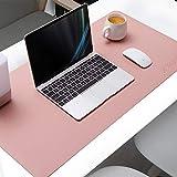 AtailorBird Mauspad Groß PU Leder Doppelseitige Schreibtischunterlage 80x40cm Multifunktionales...