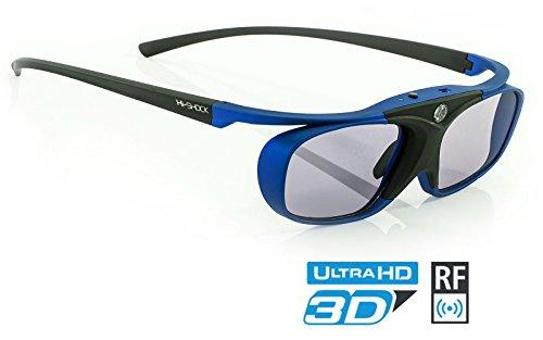 Hi Shock RF Pro Deep Heaven | Gafas 3D RF proyectores
