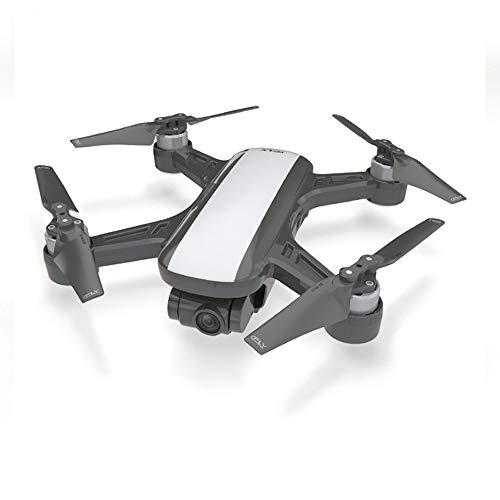 QKa GPS-Drohne Höhen-Hold-Modus Luftbildfotografie Hd Professionelle Lange Batterie leblose bürstenlose optische Fernbedienung Flugzeuge,White