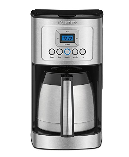 Cuisinart DCC-3400 Stainless Steel Thermal Coffeemaker, 12 Cup Carafe