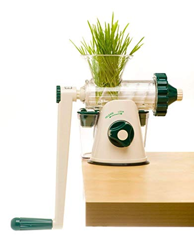 The Original Healthy Juicer (Lexen GP27) - Manual Juicer - Celery, Wheatgrass,...