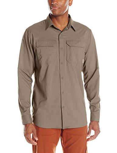 Columbia Men's Royce Peak II Long Sleeve Shirt, Wet Sand, X-Large