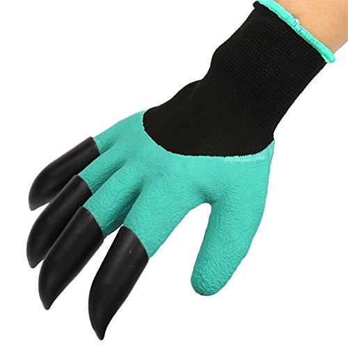 Gants de jardinage Moresave en plastique ABS - Pour creuser et planter - 1 paire