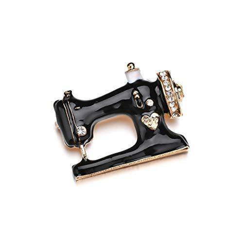 Airlove ミシンのブローチは女性の女の子のよいギフトのための型の衣類の付属品をピンで留めます