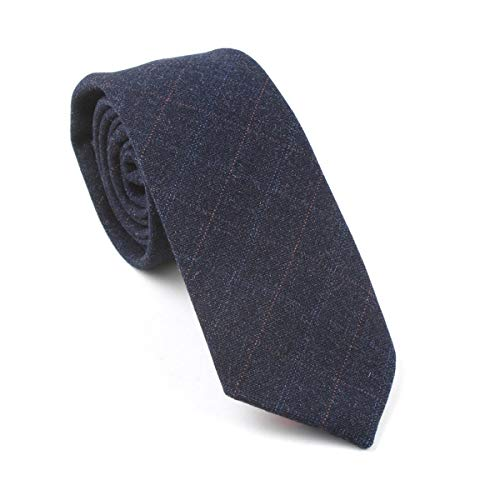 LUGEUK Klassische Wollkrawatte Herren Krawatte Lässige Party Jacquard (Color : B)