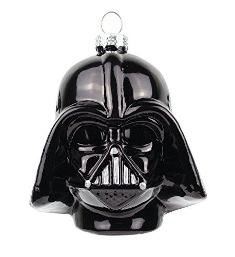 Star Wars Weihnachtskugel Darth Vader in schwarz, ca. 8 cm