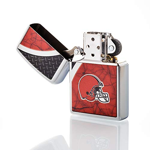 Zippo NFL Cleveland Browns Refillable Lighter, Red, One Size