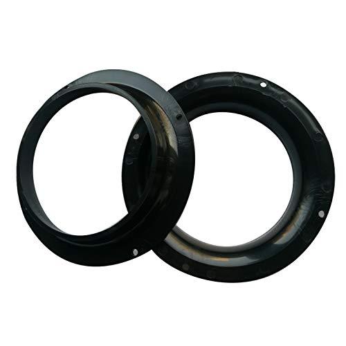 Facibom 2Pcs 210Mm Kunststoff O-Ring für Sandstrahlhandschuhe Sandstrahlschrank Teile