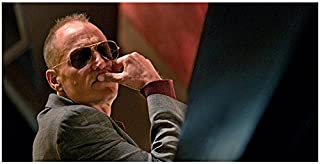 Rampart (2011) 8 inch x 10 inch PHOTOGRAPH Woody Harrelson Sunglasses Facing Right in Grey Jacket Looking Right kn