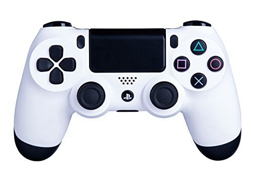 DualShock 4 Wireless Controller for PlayStation 4 - Soft Touch White PS4 - Added Grip for Long Gaming Sessions - Multiple Colors Available