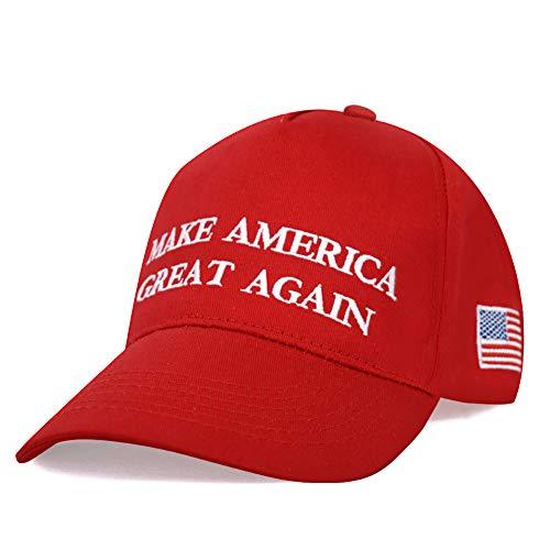 DISHIXIAO Make America Great Again Adjustable Baseball Caps, Unisex Snapback Sports Hat