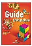 Les nouveaux outils pour les maths CM2 cycle 3 : Guide pédagogique (1Cédérom)