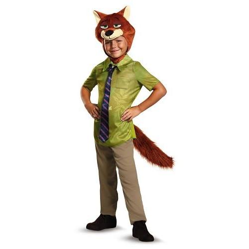 Nick Wilde Classic Zootopia Disney Costume f8f7401e03