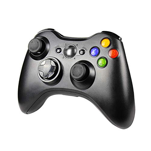 Preisvergleich Produktbild JAMSWALL Wireless Controller für Xbox 360,  Xbox 360 Wireless Controller Dual Vibration Ergonomisches Design Gamepad Joypad für Xbox 360 und PC Windows 7 / 8 / 10