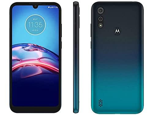 Celular Motorola Moto E6s Azul Marinho 64gb Tela 6.1 4gb Ram Cam Dupla 13mp 2mp